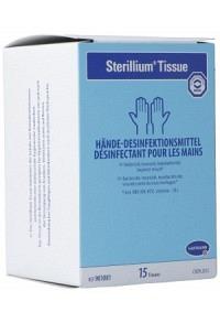 STERILLIUM Tissue Desinfektionstücher 15 Stk