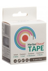 HERBACHAUD Tape 5cmx5m schwarz