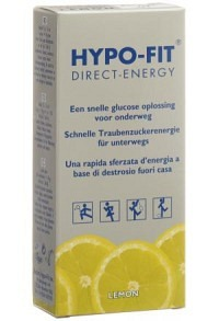 HYPO-FIT Flüssigzucker Lemon Btl 15 Stk