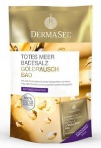 DERMASEL Badesalz Goldrausch +20ml 400 g