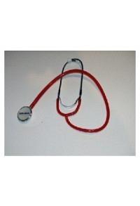 QUALIMED Doppelkopf-Stethoskop NURSE rot