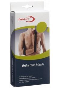 OMNIMED Ortho Armschl Mitella S-XL gepol blau-schw
