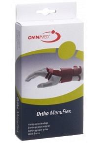 OMNIMED Ortho Manu Flex Handgelenk S 16cm re gr/bo