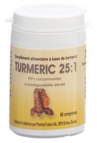 TURMERIC 25:1 Tabl 250 mg Ds 60 Stk
