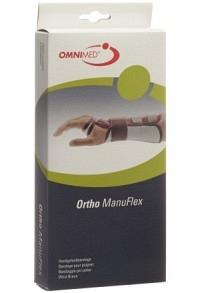 OMNIMED Ortho Manu Flex Handgelenk M 22cm li schw