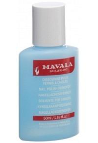 MAVALA Nagellackentferner blau Plastik 50 ml