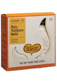 WERZ Reis Mehl Bio glutenfrei 1 kg