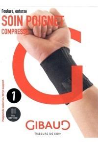 GIBAUD Handgelenkbandage anatom Gr1 13-15cm schwa