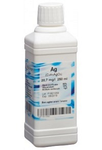 OLIGOPHARM Silber Lös 20.7 mg/l 250 ml