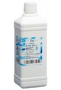 OLIGOPHARM Kupfer Lös 60 mg/l 500 ml