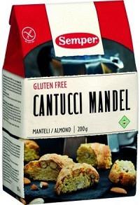 SEMPER Cantucci Mandel glutenfrei 200 g