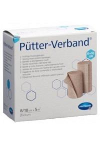 PÜTTER Verband 8/10cmx5m 2 Stk