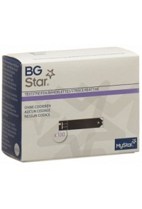 BGSTAR/IBGSTAR MYSTAR Extra Teststreifen 100 Stk
