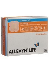 ALLEVYN LIFE Sil-Schaumver 10.3x10.3cm 10 Stk