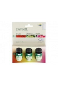 AROMALIFE TOP Set Frauenwohl 3 x 5 ml