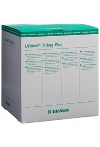 URIMED Tribag Plus Beutel 800ml 20cm steril 10 Stk