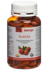 MORGA Acerola Tabl 80 mg Vitamin C 180 Stk