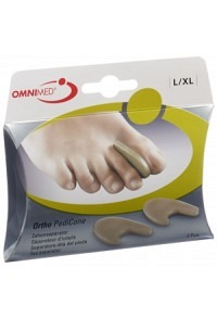 OMNIMED Ortho PediCone Zehenseparator L/XL 2 Stk