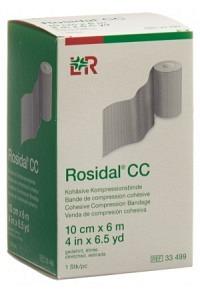 ROSIDAL CC kohäs Kompressionsbinde Kurzzug 10cmx6m