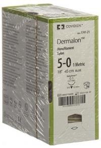 DERMALON 45cm blau 5-0 C-1 36 Stk