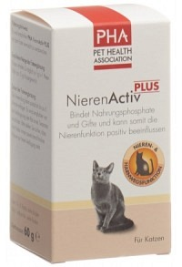 PHA NierenActiv PLUS Katzen Hunde Plv Ds 60 g
