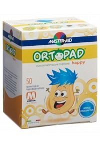 ORTOPAD Happy Occlusionspflaster medium 50 Stk