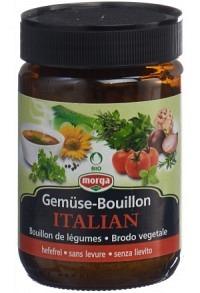 MORGA Gemüse Bouillon hefefr Italian Bio Kno 200 g