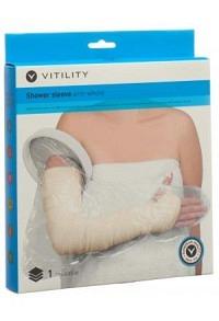 VITILITY Duschüberzug ganzer Arm