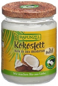 RAPUNZEL Kokosfett Glas 200 g