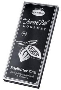 LIEBHART Schoko Edelbitt Kakao 72% Bio 100 g