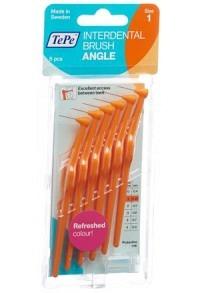 TEPE Angle Interdental-Brush 0.45mm orange 6 Stk