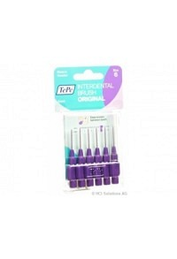 TEPE Interdental Brush 1.1mm violett Blist 6 Stk