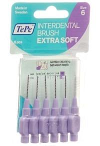 TEPE Interden Brush 1.1mm x-soft viol Blist 6 Stk