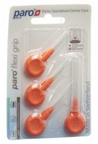 PARO Flexi Grip 1.9/5mm x-fin orange konisch 4 Stk