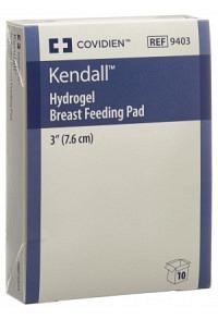 KENDALL Hydrogel Breast Feeding Pad 5 x 2 Stk