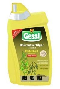 GESAL Unkrautvertilger SUPER-RAPID Konz 800 ml (Achtung! Versand nur INNERHALB der SCHWEIZ möglich!)