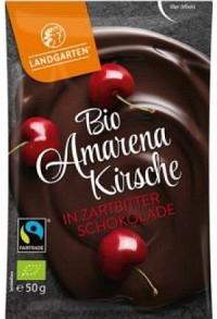 LANDGARTEN Amarenakirsch Zartbitter Bio Fairt 50 g