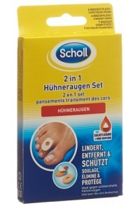 SCHOLL 2in1 Hühneraugen Set