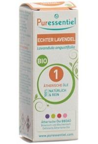 PURESSENTIEL Echter Lavendel Äth/Öl Bio 10 ml