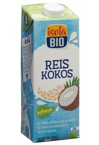 ISOLA BIO Kokos-Reis Drink Tetra 1 lt