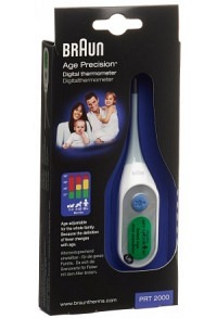 BRAUN AGE PRECISION digital Thermometer PRT 2000