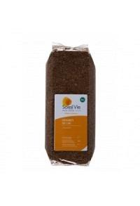 SOLEIL VIE Vollkorn-Leinsamen-Körner Bio 500 g