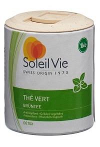 SOLEIL VIE Grüntee Kaps 470 mg Bio 100 Stk