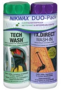 NIKWAX Tech Wash/TX Direct Wash-IN Duo 2 x 300 ml