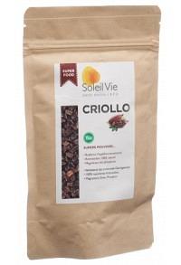 SOLEIL VIE Roh-Kakaosplitter Criollo Bio 120 g