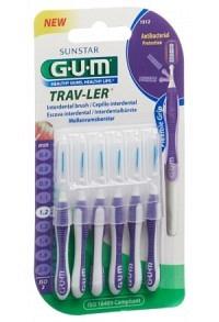 GUM SUNSTAR Trav-Ler 1.2mm cylindric violet 6 Stk