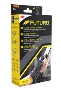 3M FUTURO Deluxe Daumen-Schiene S/M lin/rech schw