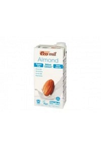 ECOMIL Mandelgetränk ohne Zucker mit Kalzium 1 lt