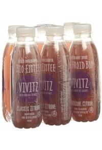 VIVITZ Bio Eistee Classic Zitrone 6 x 0.5 lt