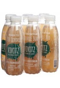 VIVITZ Bio Schorle Apfel Holunderblüte 6 x 0.5 lt